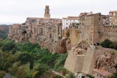 Aldea de Toscana Imagen de archivo libre de regalías