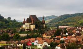 Aldea de Transilvania Fotos de archivo