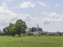 Aldea de Transylvanian Fotografía de archivo libre de regalías