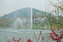 Aldea de Yangshan Imagen de archivo