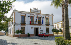Aldea del Cano Town Hall, Spain Royalty Free Stock Image