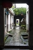 Aldea del chino tradicional Fotografía de archivo libre de regalías
