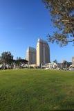 Aldea del puerto marítimo, San Diego, California imagenes de archivo