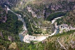 Aldea del Santo-Chely-du-Tarn Fotos de archivo libres de regalías