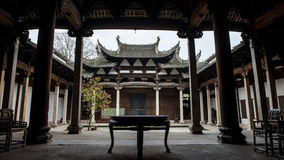 Aldea en China Fotografía de archivo libre de regalías