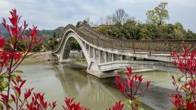 Aldea en China Foto de archivo