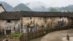 Aldea en China Imagen de archivo libre de regalías