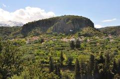 Aldea en crete, Grecia imagen de archivo libre de regalías