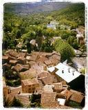 Aldea en Francia Foto de archivo