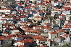 Aldea en Grecia imágenes de archivo libres de regalías