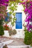Aldea en Grecia Imagen de archivo