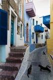 Aldea en Grecia Fotografía de archivo libre de regalías