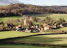 Aldea en Inglaterra Fotos de archivo