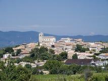 Aldea en la Provence Foto de archivo