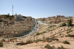 Aldea en Libia Imagenes de archivo