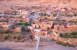 Aldea en Marruecos foto de archivo