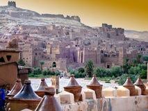 Aldea en Marruecos Foto de archivo libre de regalías