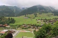 Aldea en suizo Imagen de archivo
