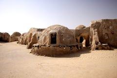 Aldea en Túnez Imagenes de archivo