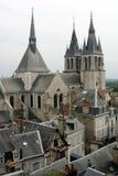 Aldea francesa pintoresca Foto de archivo