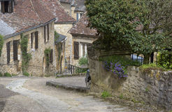 Aldea francesa pintoresca Fotografía de archivo
