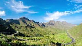 Aldea góry na Granu Canaria wyspie zbiory