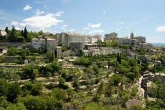Aldea Gordes en Provence Foto de archivo