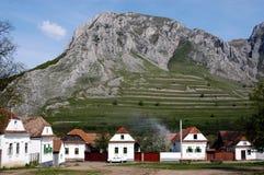 Aldea húngara Rametea (Torocko), Rumania Foto de archivo libre de regalías