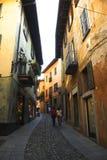 Aldea italiana Imagen de archivo libre de regalías