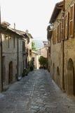Aldea italiana Foto de archivo