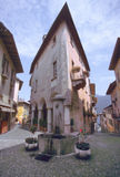 Aldea italiana Imagenes de archivo