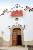 Aldea Jaén España de Iruela del La de la iglesia Foto de archivo