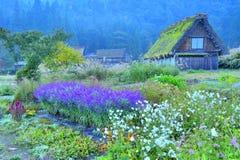 Aldea japonesa Imagenes de archivo