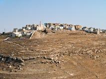 Aldea, Jordania Fotografía de archivo