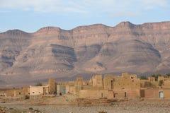 Aldea marroquí Fotografía de archivo libre de regalías