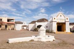 Aldea mexicana abandonada Imagen de archivo libre de regalías