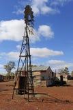 Aldea pionera en el interior Australia Imágenes de archivo libres de regalías