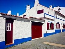 Aldea Portugal de Obidos Fotografía de archivo