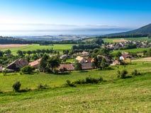 Aldea rural en Suiza Fotografía de archivo libre de regalías