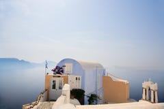 Aldea Santorini de Oia Imagen de archivo libre de regalías