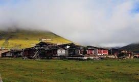 Aldea tibetana Fotos de archivo libres de regalías
