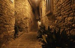 Aldea toscana Fotografía de archivo