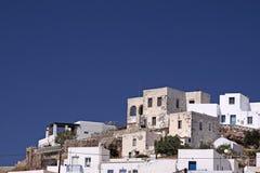 Aldea tradicional de la isla Imagen de archivo libre de regalías