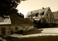Aldea vieja Foto de archivo libre de regalías