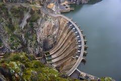Aldeadavila, barrage, réservoir images libres de droits