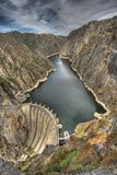 Aldeadavila Dam Royalty Free Stock Image
