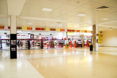 Aldeasa duty free shop, Girona Airport Royalty Free Stock Image