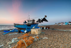 Aldeburgh Beach Royalty Free Stock Images