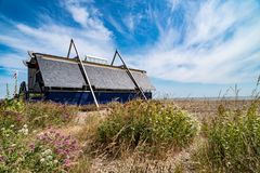 Aldeburgh Lifeboat Station. In Suffolk, England, United Kingdom royalty free stock photos