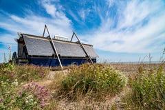 Aldeburgh livräddningsbåtstation royaltyfria foton